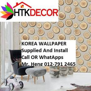 3D Korea Wall Paper with Installation 82IH