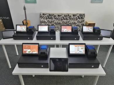 Tablet POS System Mesin Cashier Cash Register 422