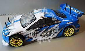 Sonic 2 speed rc nitro engine car