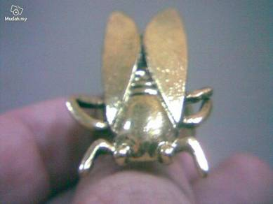 ABRB-C001 Retro Cicada Style Bronze Ring Size All