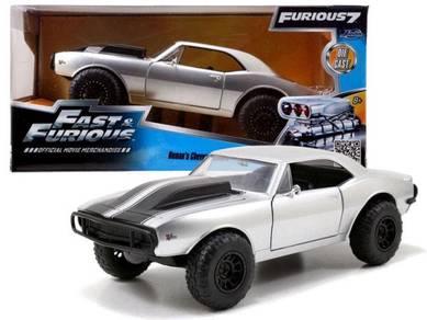 Fast & furious 7 - Roman's Chevy Camaro 1/24