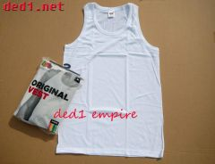 FRUIT OF THE LOOM - baju SINGLET (ASLI)