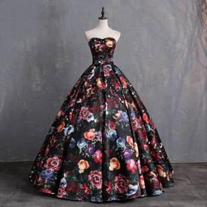 Flower wedding evening prom dress gown RBP1040