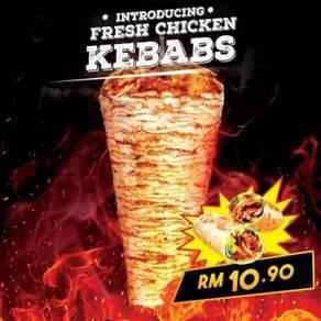 Kebab franchise food business