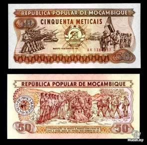 Mozambique 50 escudos 1986 p 129 unc