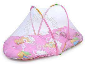 Baby mosquito net bed PINK