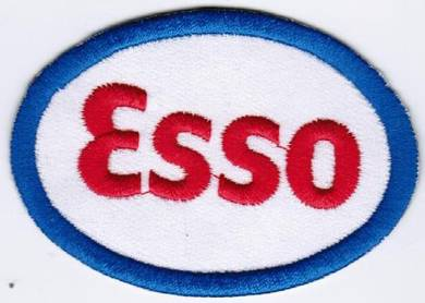Esso Oil and Gas Company Badge Embroidered Patch