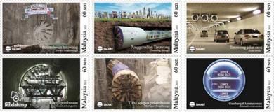 Mint Stamp Underground Engineering Malaysia 2011