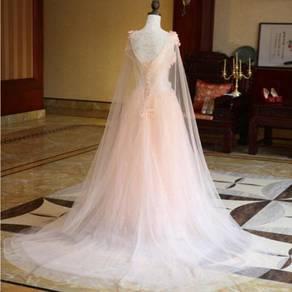Pink wedding bridal dress gown bridesmaid RB0269