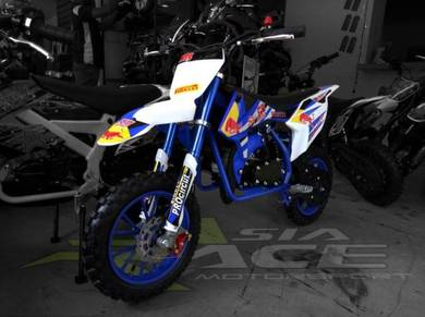 Mini dirt bike PS3 Blue