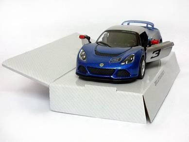 2012 Lotus Exige S model car - Gradient blue