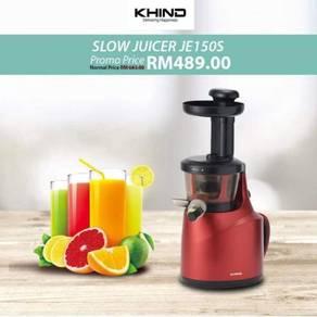 Khind Slow Juicer JE150S -NEW SET