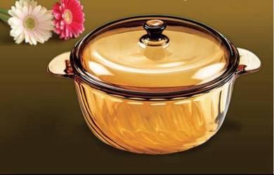 2.5L Vitro amber casserole
