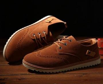 0225 British Retro Brown Business Casual Man Shoes