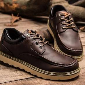 0250 British Retro Business Brown Boots Men Shoes