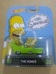 Hotwheels Retro Entertainment The Homer Simpsons
