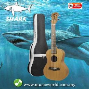 Shark ukulele concert premium quality with bag