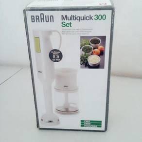 BRAUN Multiquick Hand mixer and Grinder