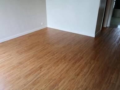 Vinyl Floor Lantai Timber Laminate PVC Floor M449