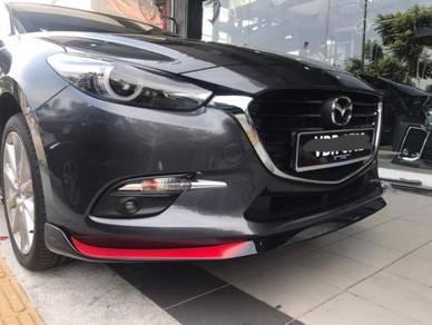 Mazda 3 oem bodykit w spoiler paint body kit