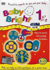 Baby Bright Vol.1 For Ages 0-12 Months DVD