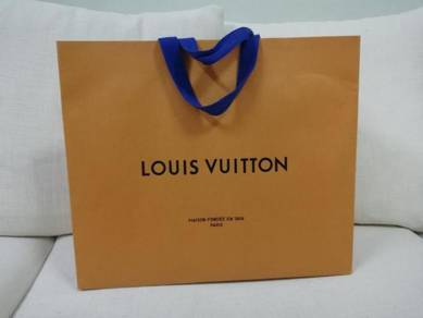 LV Louis Vuitton paper bag 34x40cm
