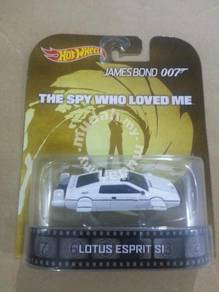 Hotwheels 007 Retro Lotus Esprit S1 Submarine