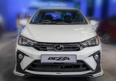 Perodua bezza 2020 oem gear up bodykit wit paint 1