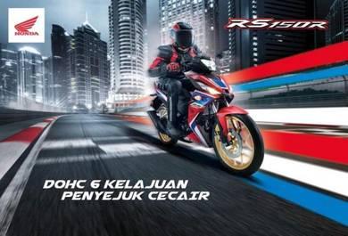 HONDA RS150 cc PROMOSI TAHUN BARU