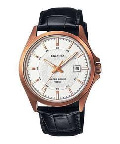 Watch - Casio Men Date MTP1376R-7 - ORIGINAL