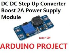 DC-DC Step Up Converter Boost Power Supply Module