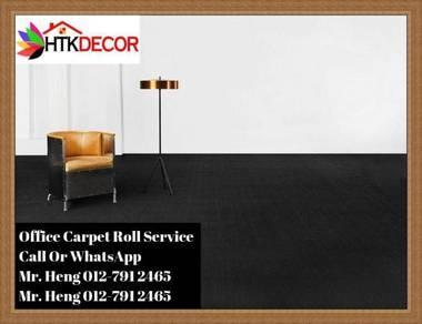 Classic Plain Design Carpet Roll with Install S8LQ