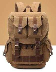 B9252 Brown Special DSLR Cameras Backpack Travel