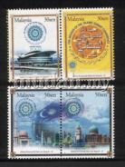 Mint Stamps Islamic Summit Conference Msia 2003