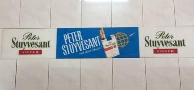 Peter Stuyvesant Signboard Papan Tanda Iklan 183cm