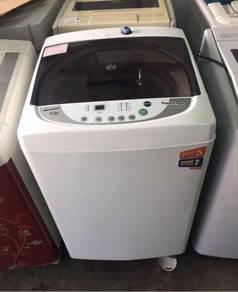 Automatic Sharp 6.5KG washing machine top load