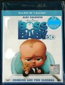 Blu-ray THE BOSS BABY Alec Baldwin 3D Blu-ray