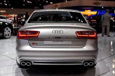 Audi S6 Style Boot Spoiler for Audi A6 Sedan - ABS