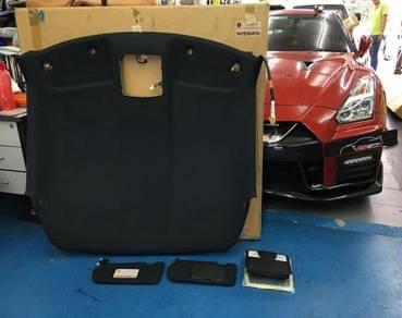 Nissan GTR R35 Black Edition interior Roof Skin