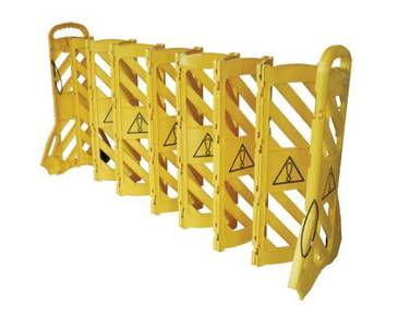 Safety barrier cw wheel - 4m