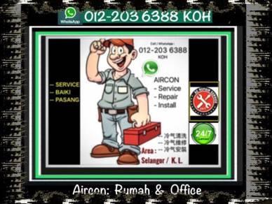 Aircond Servicing KL/SEL AIR CON Pro air cond