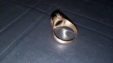 Vintage cincin emas suasa 375 lama