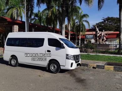 Kk sewa van bus rental charter tour travel holiday