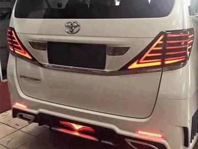 Toyota vellfire alphard 08 led tail lamp light bar