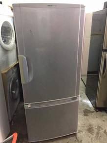 National 2 doors fridge Peti Sejuk Ais cold