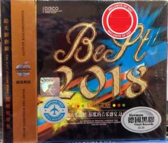 IMPORTED CD Best 2018 DJ English 3CD