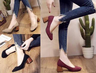 7929 High-Heeled Shoe Retro