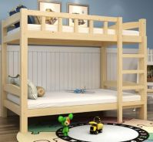Double decker katil Kid ikea children Bed frame 2