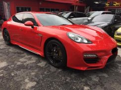 Porsche panamera 970 caractere conversion kit