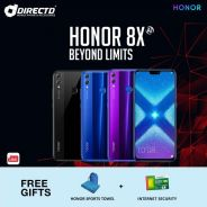 HONOR 8X (4GB RAM | 128GB ROM)MYset + 2 HADIAH